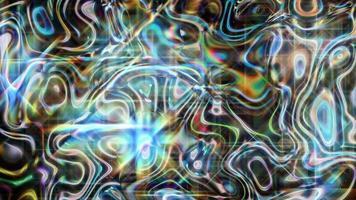 sfondo chiaro astratto iridescente in movimento video