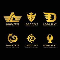 logo vector template and symbol Free Vector
