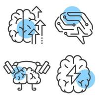 Brain activity concept vector design