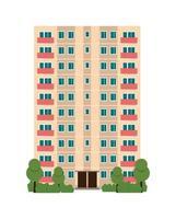 city building house flat illustration vector