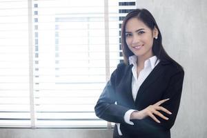 Portrait of business woman photo