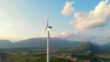 turbina de viento giratoria video