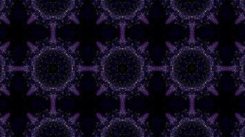 lila Kaleidoskop Hintergrund video