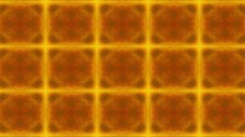 orange Kaleidoskop Hintergrund video