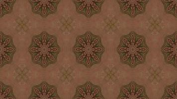 Flower Shape Kaleidoscope Background video