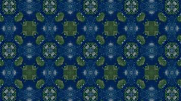 Star Shape Kaleidoscope Background video