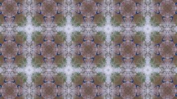 magischer Kaleidoskophintergrund video
