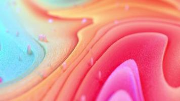 fondo líquido colorido video