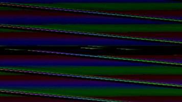 effet d'art numérique pixel bruit glitch video