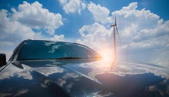 coche de viento foto