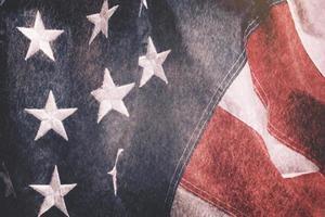 US American flag photo