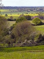 Beautiful view from the Howardian Hills North Yorkshire England photo
