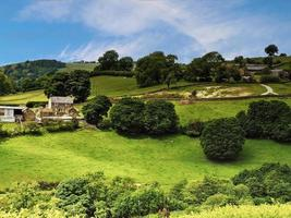 Landscape in the North York Moors National Park England photo