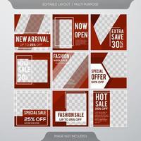 Sale banner template design vector