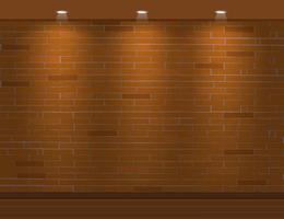 Wall brick background vector