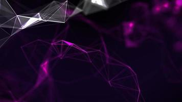 Abstract Background Representing a Flowing Network of Information and Communication video