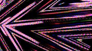 Video digitale Glitch-Effekte