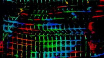 verzerrter abstrakter VHS-Effekthintergrund video
