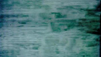 señal de tv estática distorsionada retro video