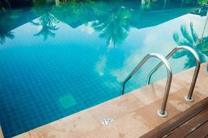 Swimming pool outdoors photo
