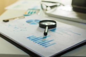 Business finance documents photo