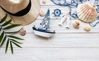 Summer holiday background photo