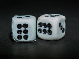 Dice close up photo