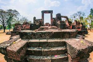 Ruins at Ku Ka Sing, Roi Et, Thailand photo