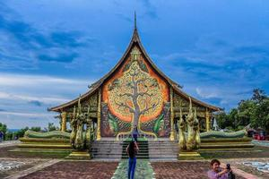 Wat Sirintornwararam Wat Phu Prao temple in Ubon Ratchathani, Thailand photo