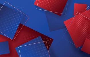 Red Blue White Background vector