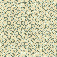 Daisy flower seamless pattern on yellow background illustration. Pretty cartoon floral pattern for print. vector