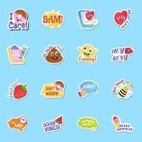 Sticker Vectors Elements