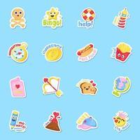 Entertainment and Fun Sticker vector