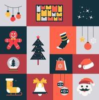 Happy Christmas Elements vector
