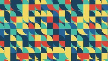 colore pixel onda seamless pattern 4K motion design animazione video