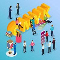 Advertising Agency Concept Vector Illustration