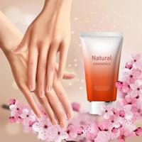 Sakura Promotion Flyer Vector Illustration