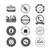Badges Labels design vector