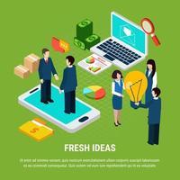 Ilustración de vector de concepto de marketing digital