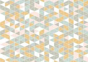 abstract low poly scandinavian style pattern background vector