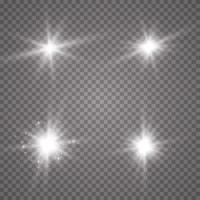 Lights on background vector