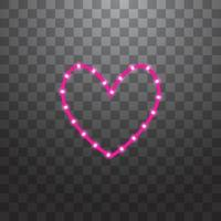LED stripes with  line on background vector