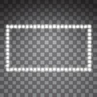 brillantes rayas vectoriales led vector
