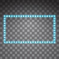 Shining led vector stripes