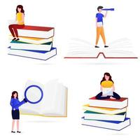 Various kinds of illustration of knowledge vector