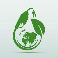 International Biodiesel Day 10 August for Ecology and Environmental Help The World With Eco Friendly Ideas vector