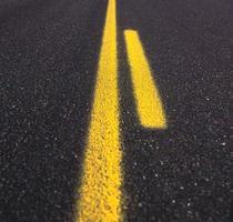 Asphalt road texture photo