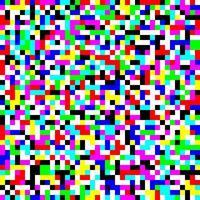 Ilustración de vector de fondo de textura de patrón sin costuras de falla de píxeles de ruido de pantalla de TV