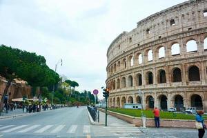el coliseo de roma, italia foto