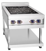 Modern ceramic metal stove photo